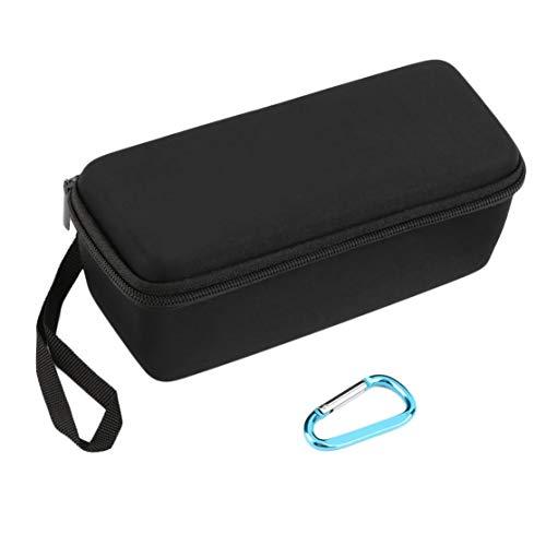 LouiseEvel215 Portable Größe Durable Eva Semi-Hard Portable Carry All Travel Aufbewahrungskoffer für Mini-Wireless-Lautsprecher Semi Hard Case
