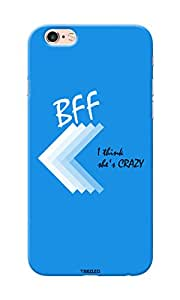 Tecozo Designer Printed Back Cover / Hard Case for Apple Iphone 6s Plus (She Crazy Friends Case/ Patterns)