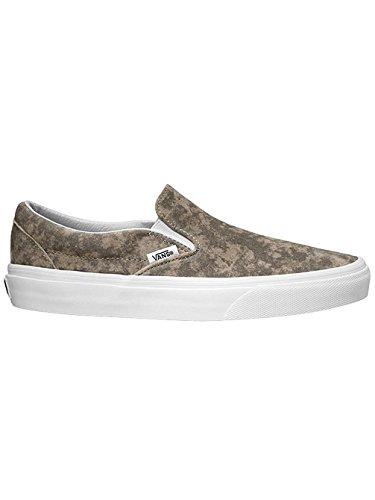 Vans Classic Slip On chaussures Khaki/True White