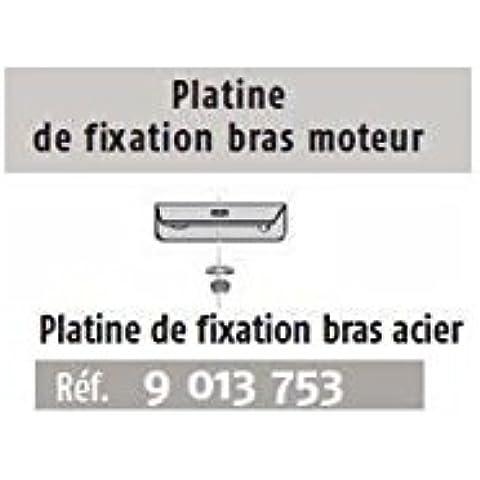 Somfy-Platina de fijación de acero para brazo motor Somfy AXOVIA 3S-9013753