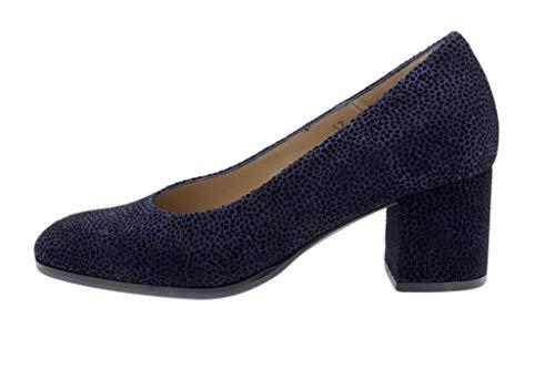 Zapato Cómodo Mujer Salón Lince Marino 185301 PieSanto