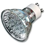 Ex-Pro® 1 x - GU10C, GU10-C 20 LED White Light Cool running Daylight replacement bulbs for Mini Daylight Kits. (Ex-Pro® & other brands using GU10 fitting). 220v True Daylight light.