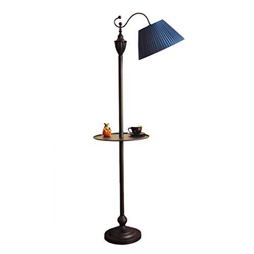 *Stehlampe Stehlampe, LED-Sofa hinter dem Wohnzimmer Beleuchtung Deckenleuchte Kronleuchter Europäischen Retro Wohnzimmer Bett Lesen Stehlampe Stehlampe gewölbt