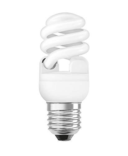 Osram Dulux Twist Energiesparlampe, E27-Sockel, 12 Watt, tageslichtweiß - 6500K -