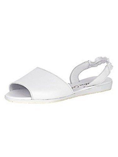 Nappa Branco Conti Sandalette Andrea Senhoras De Couro n8FIBFZwx