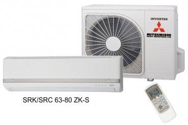 Wand-Klimagerät-Set (Innen- u. Außengerät) Mitsubishi Heavy Industries SRK 63 ZK-S/SRC 63 ZK-S
