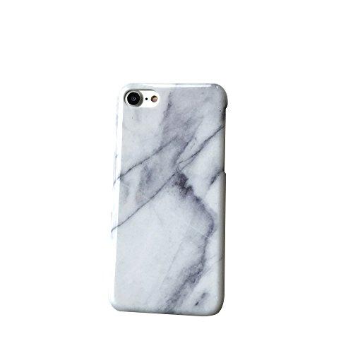 iPhone Handyhülle,Dewanxin Einfach Kreative Schwarz-weiß-Marmor Streifen Design (iPhone 6/6s, Streifen weiß) (Fall Samsung Louis Vuitton)
