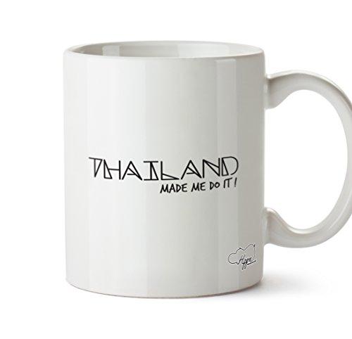 hippowarehouse Thailand Made Me Do It. 283,5Tasse, keramik, weiß, One Size (10oz) (Swim Trunks Sun)