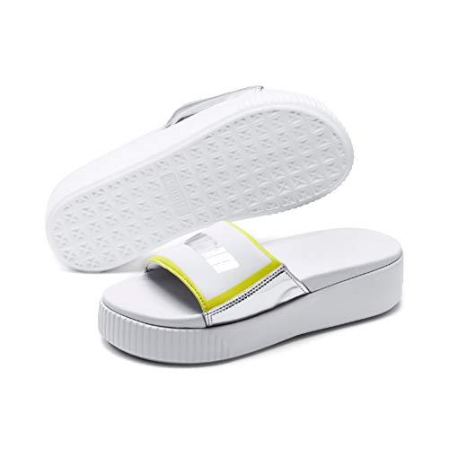 Zapatos de Mujer Chancla Platform Slide Tz Metallic Blanco Puma SS 2019