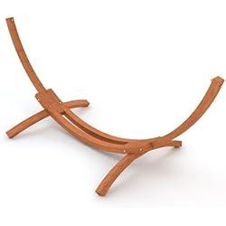 Ampel 24, Soporte para hamaca noble de madera, MAURITIUS, longitud: 310cm sin hamaca