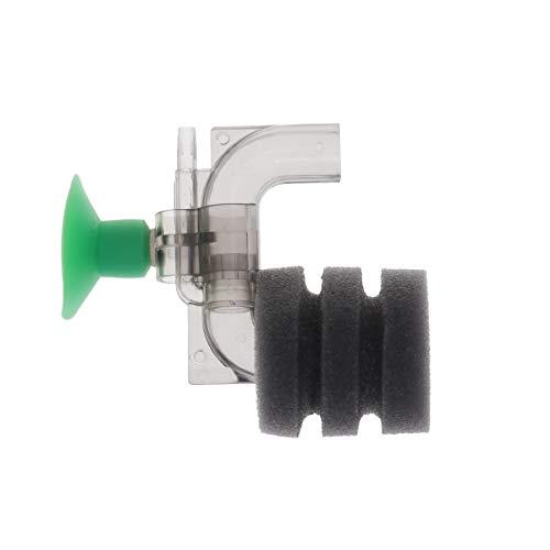 POPETPOP Mini pecera Filtro Esponja impulsado Aire