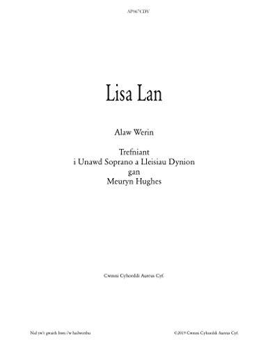 Lisa Lan: Bûm yn dy garu lawer gwaith (Welsh Edition)