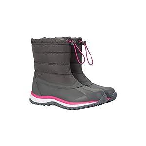 Mountain Warehouse Glacier-Schneestiefel zum Überziehen für Frauen – schneefeste warme Stiefel, mit Sherpa-Futter, hohe Bodenhaftung – für Frauen für kaltes Wetter