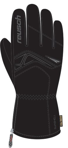 Reusch International Spa Side Cut Gore tex Skihandschuh skyblue/schwarz - 10,5