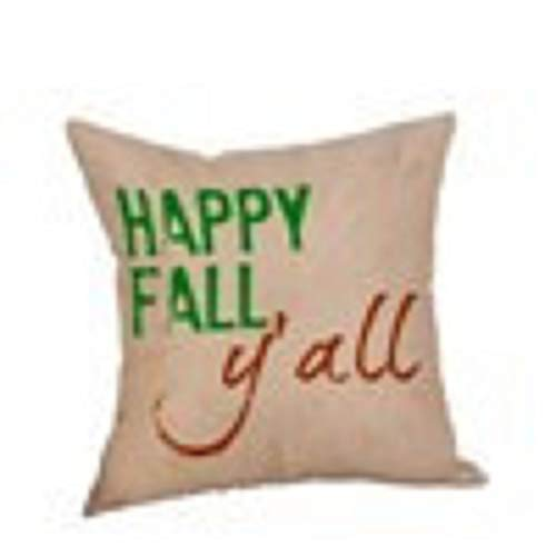 Happy Halloween Kissenbezüge Leinen Sofa Kissenbezug Home Decor Kinlene