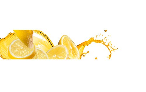 Küchenrückwand-Folie Zitrone Klebefolie Spritzschutz Küche Fliesenspiegel Möbel Rückwand selbstklebend   mehrere Größen