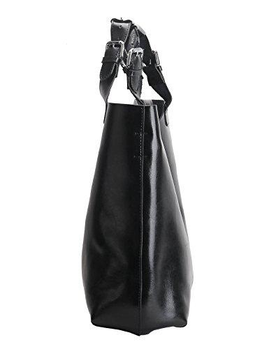 Sufely - Borse a spalla donna black