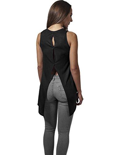 Urban Classics Damen Ladies Hilo Viscose Top Schwarz (Black 7)