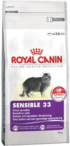Royal Canin SENSIBLE 33 Cat Food 10kg