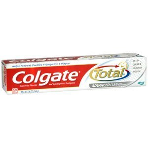 COLGATE PERSONAL CARE CO. COLGATE TOTAL ADVANTAGE CLEAN GEL TOOTHPASTE 5.8 OZ by Unknown