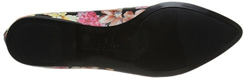 Nine West Speakup Synthetic Ballerinas Purple Combo