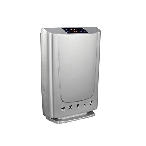 Características generales: Innovador purificador con 5 exclusivas aplicaciones: Purificación del aire por plasma Generador de Ozono Purificador de agua mediante dispositivo especial de limpieza incluido. Esterilización de artículos para bebé (chupete...