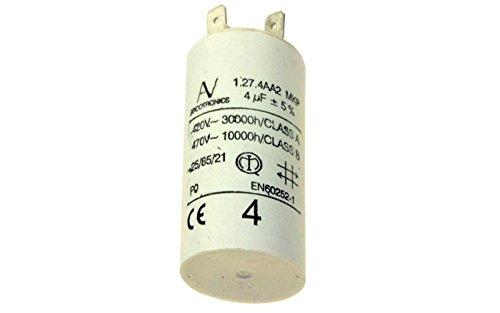 Condensateur 4 Mf 420v Pour Hotte Whirlpool