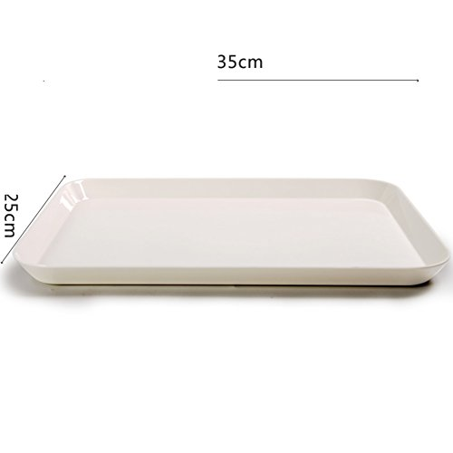 WANGS TEE-Tablett Melamin Palette von Eau de Toilettenschüssel Platte europäischen von Fruit Creative, Tablett-Kuchen B (Schüssel Porta)
