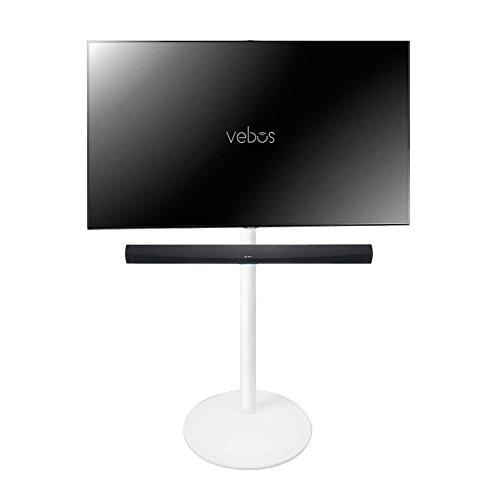 Vebos Pied d'enceinte télévision Denon HEOS Home Cinema Soundbar blanc - Haute qualité en une expérience optimale dans chaque pièce - Vous permet de placer vos TV exactement où vous le voulez