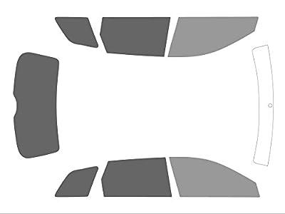 Variance Auto va_k-3-18|247|607-1-34 Film Teinté pour Auto Kit Complet avant, Noir 35/20