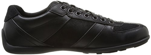 Timberland - Scarpe Ek Hookset Low Profile Leather Oxford C9718am, Uomo Nero  (Noir (Black))