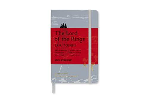 Moleskine 8053853600134 - Taccuino con copertina rigida, motivo: il Signore degli Anelli, formato A6, a righe