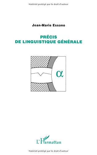 Precis de linguistique generale