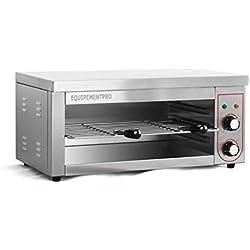 Equipementpro {ES-937} - Salamandre professionnelle - salamandre inox - toaster professionnel - grill pain inox - grill professionnel toaster inox