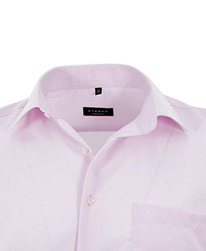 eterna -  Camicia classiche  - Basic - Classico  - Uomo Rosa