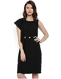 RARE Women Black A-Line Dress (EP1664)