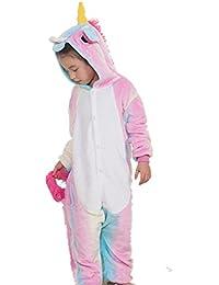 KiKa Monkey Licorne Pyjamas Unisexe Enfants Pyjamas Animaux Noël vêtements Halloween Cosplay Vêtement