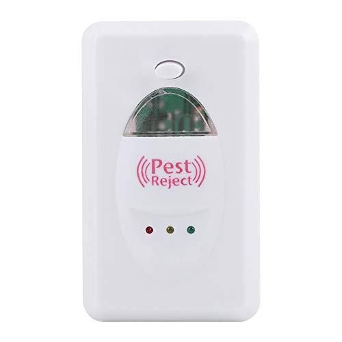 Repelente ultrasonidos) ultrasónico electrónico insecto anti Rat ratón mosquitos en repelente para cámara bebés EU enchufe