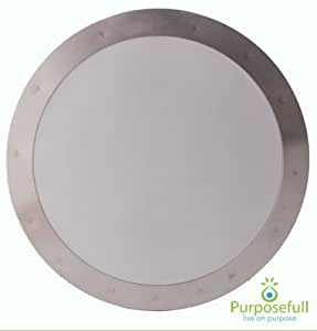 Purposefull Filter - Aeropress Stainless Steel Metal Coffee Filter - Finest Mesh - Allows Natural Oils - Removes Paper Taste