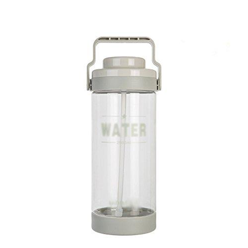 31VfXs3yC3L - Große Kapazität Wasser Tasse Kunststoff 3L Tasse Tragbare Wasserflasche Outdoor Sports Große Tee Stroh Space Cup
