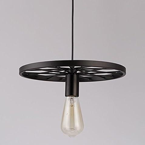GL&G American Retro Industrial Kronleuchter, für Wohnzimmer Hallway Studio Bar Restaurant Lichter Dekorative Eisen Lichter Beleuchtung (keine Lichtquelle),1 head