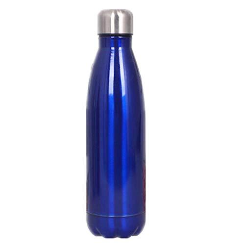 LKlpbwb Thermos Flaschen Tragbarer Wasserkocher für Outdoor-Sportarten aus 304 Edelstahl-Doppelschichtkolben-Thermoskanne blau Nissan Thermos Mug