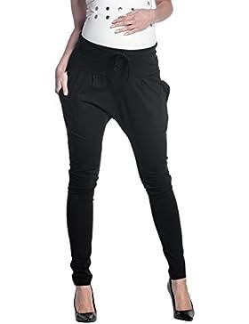 Zeta Ville - Pantalone prémaman pannello elastico cavallo basso - donna - 583c