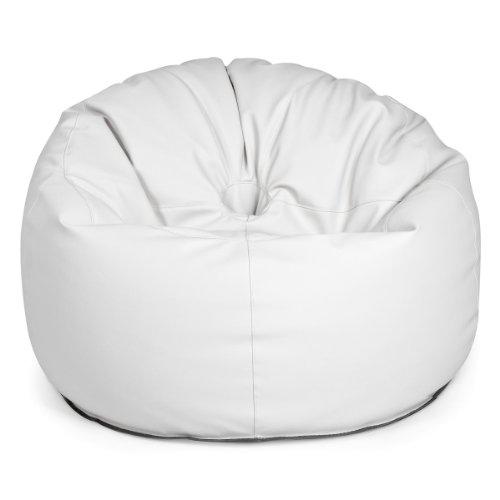 Design Outbag Deluxe Donut Sitzsack 90 x 90 cm Kunststoff Farbe wählbar, Farbe:Cremé - Deluxe Sitzsack