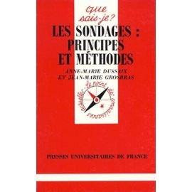 Les sondages : Principes et méthodes