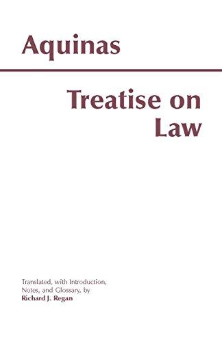 Treatise on Law (Hackett Classics) por Thomas Aquinas
