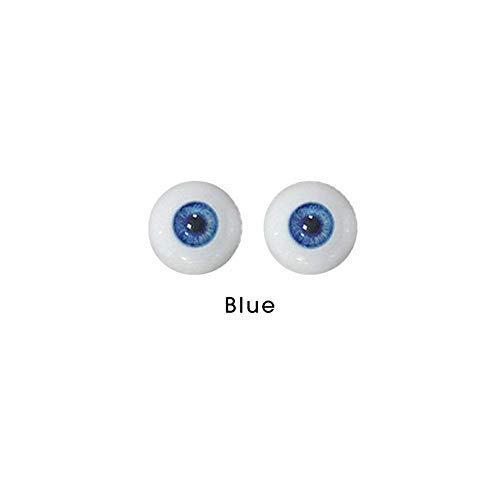 Realistische Sexpuppe Liebespuppen blaue Augen ersetzen künstliche Kunststoffaugen 1 Paar