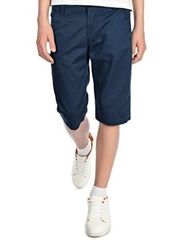 BEZLIT Jungen Chino Kinder Shorts kurz, 146, Navy -