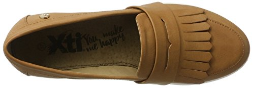 Xti Camel Pu Ladies Shoes ., Mocassins (loafers) femme Beige