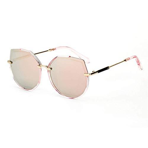 XHCP Frauen Polarisierte Klassische Aviator Sonnenbrille, Männer Frauen Retro Sonnenbrille Cat Eye Polarisierte Trimmlinsen Sonnenbrille Für Golf Fahrrad Angeln Zubehör UV400 Strandurlaub Erwachs